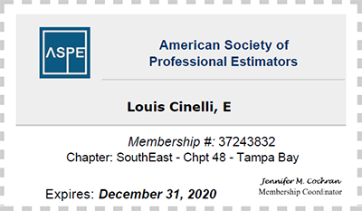 American Society of Professional Estimators